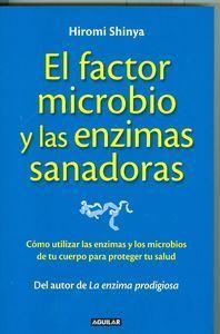 EL FACTOR MICROBIO Y LAS ENCIMAS SANADORAS Después del éxito de ventas de La enzima prodigiosa y La enzima para rejuvenecer el doctor Hiromi Shinya nos ofrece en El factor microbio y  las enzimas sanadoras un método revolucionario basado en los estudios  científicos más recientes que él llama Bioenzima Shinya http://www.imosver.com/es/libro/el-factor-microbio-y-las-encimas-sanadoras_0010022256