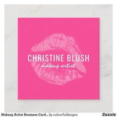 Shop Makeup Artist Business Card Template created by colourfuldesigns. Makeup Artist Business Cards, Blush Makeup, Smudging, Paper Texture, Things To Come, Templates, Writing, Prints, Stencils