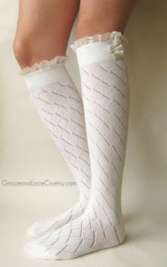Cute boot socks....fall is on its way :)
