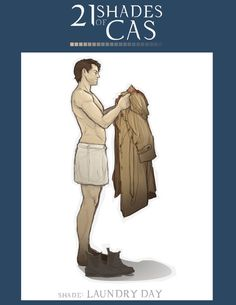 21 Shades of Cas ~ laundry day by Sempaiko on DeviantArt