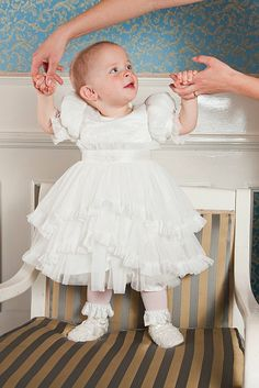 Luxury couture for little kids, girls and boys Christening Outfit, One Design, Baby Girls, Children, Kids, Flower Girl Dresses, Product Launch, Couture, Luxury