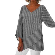 T Shirt Top, Autumn Clothes, Summer Stripes, Party Tops, Henley Shirts, Casual Party, Casual T Shirts, Clubwear, Blouse