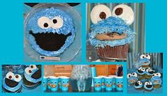Sutherlands 2008-2012: Cookie Monster Birthday Party