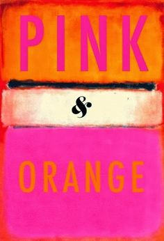 Living Happy: PINK and Orange ...... FANTASTIC!!
