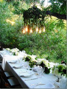 a Midsummer night's Eve Garden party…..