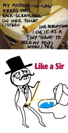 Best Memes - Toilet Like a Sir