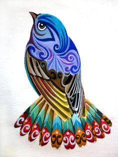 bird paisley Tattoos | Inspiration :: Tattoos & Piercings