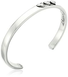 "Sterling Silver ""Chance Made Us Sisters Hearts Made Us Friends"" Heart Cuff Bracelet * Read more reviews of the product by visiting the link on the image."