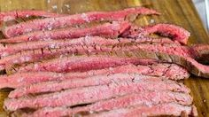 Flank Steak - in Deutschland ein viel zu seltener Genuss. (Quelle: C. & A. Veltins)