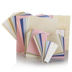 Shop Anna Griffin® Soft Hues Metallic Card Layers, read customer reviews and more at HSN.com.