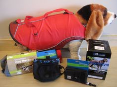 No matter what your pup's favorite outdoor activity is, Fido Park Avenue has the gear for it! Trail boots, life vests, even doggy saddlebags so your pooch can carry their own portable food and water wallets.