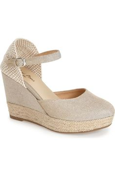 Toni Pons 'Arles' Espadrille Wedge Sandal (Women) available at #Nordstrom
