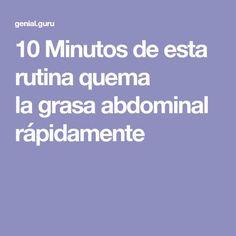 10Minutos deesta rutina quema lagrasa abdominal rápidamente