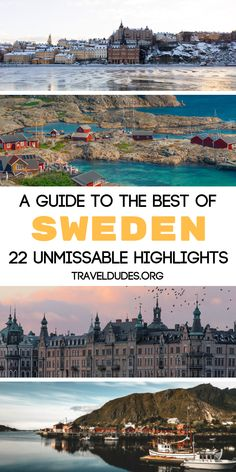 A bucket list worthy guide to exploring the best of Sweden, whether it be winter or summer. Things to do in city destinations such as Stockholm and Gothenburg, tips for experiencing nature and the northern lights in the north, photography inspirati Europe Destinations, Europe Travel Tips, Travel Goals, European Travel, Travel Advice, Travel Guides, Places To Travel, Places To Visit, Travel Info