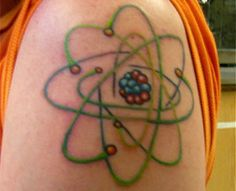 66 super Ideas for science tattoo chemistry posts Physics Tattoos, Science Tattoos, Atom Tattoo, Science And Technology News, Discover Magazine, Places For Tattoos, Science Crafts, Science Experiments Kids, Science Geek