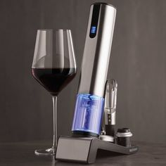 bar and as Gift USB Powered Cordless Wine Opener Kit with Foil Cutter Wine Bottle Opener Party Prime home Wine Opener Electric for Wedding