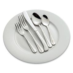 Stainless silverware