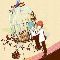 Akashi Seijuuro x Kuroko Tetsuya // Kuroko no Basket Akakuro, Kuroko Tetsuya, Kuroko's Basketball, Kuroko No Basket, Sweet Couple, Image Boards, Anime Sports, Ships, Wattpad