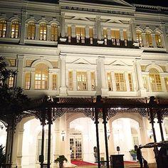 #justarrived in Singapore. #singapore #raffles #asia #travel #holidays