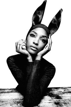 "Senya Hearts♥  Jourdan Dunn in ""Deep Breeding"" for Garage Magazine, Fall/Winter 2014  Photographer: Platon"