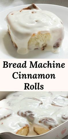 Bread Machine Rolls, Easy Bread Machine Recipes, Best Bread Machine, Bread Maker Recipes, Easy Bread Recipes, Icing Recipes, Recipe For Bread Machine Cinnamon Rolls, Brioche Bread Machine Recipe, Bread Rolls