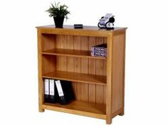 Newark Oak Bookcase, Low and Wide http://solidwoodfurniture.co/product-details-oak-furnitures-3499-newark-oak-bookcase-low-and-wide.html