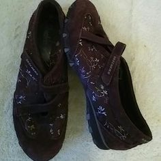 Skechers Shoes Size 9.5 M Brown Preowned Great Condition Skechers Shoes Flats & Loafers