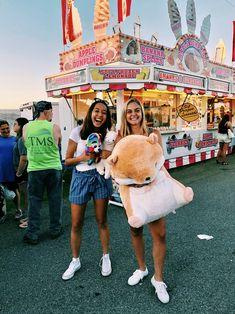 summer fair with best friend!