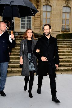 Nathalie Portman, Spring Summer 2015, Put On, Christian Dior, Fashion Show, Women Wear, Winter Jackets, Husband, Celebrities