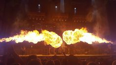 Epic Firetruck's Rammstein at Chicago Open Air 2016 ~ Zac Smith Photography ~