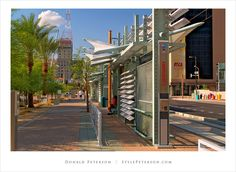 Metro Light Rail Station, Phoenix, Arizona