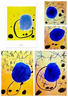 Discover recipes, home ideas, style inspiration and other ideas to try. Magritte Paintings, Joan Miro Paintings, Famous Artists Paintings, Wassily Kandinsky, Paul Klee, Artists For Kids, Art For Kids, Joan Miro Pinturas, 4th Grade Art
