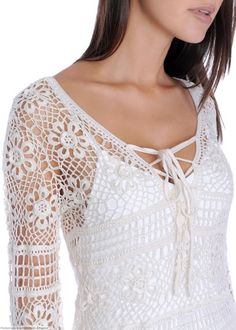 Crochét lace..white top