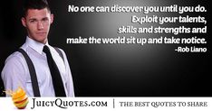 """""""No one can discover you until you do. Exploit your talents, skills and strengths and make the world sit up and take notice. Career Quotes, Daily Quotes, Best Quotes, Never Too Late Quotes, Imagination Quotes, Sit Up, Jokes Quotes, Best Actor, Life Goals"""