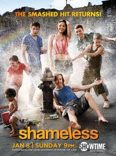 SHAMELESS  this show is sooo wrong on every level..but i cant stop watching it! lol