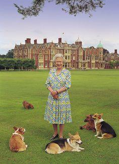 HMThe Queen at Sandringham House - Google Search