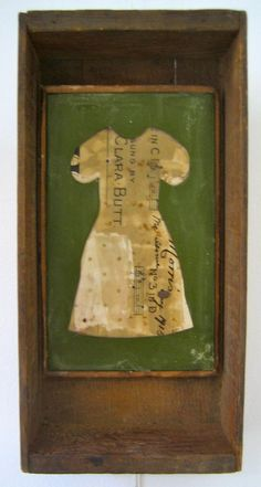 """Clara Butt"" Vintage bookcover and found objects y Ngaio Lenz"