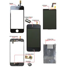 Mobile phone pcb diagram with parts latest mobile phones diagram iphone diagrams expanded views directfix ccuart Images
