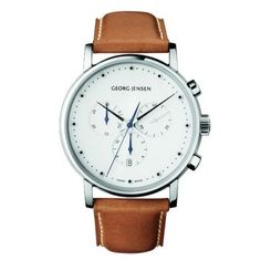 We love this watch by Georg Jensen. Matches well with the Graf von Faber-Castell Perfect Pencil! http://www.stonemarketing.com/graf-von-faber-castell-perfect-pencil-platinum-plated-brown
