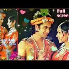 Radha Krishna Serial Star Bharat Ek Dil Hain Ek Jaan Hain Song Ringtone Krishna Songs Serial