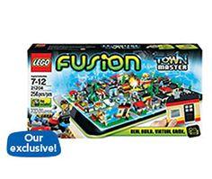 LEGO Fusion Town Master top toy for preschooler