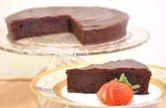 SINFUL & DECADENT GLUTEN FREE CHOCOLATE CAKE – Baking Queen Darlene.  The best ever and so simple to make!