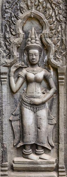Apsara Dancer, Angkor Wat, Cambodia