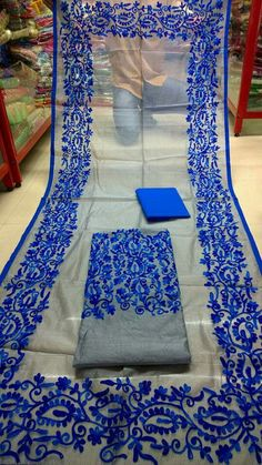 Best.cotton Pakistani Wedding Dresses, Pakistani Outfits, Indian Dresses, Punjabi Dress, Punjabi Suits, Kamiz Design, Cotton Saree Designs, Phulkari Embroidery, Balochi Dress