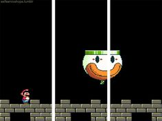 Super Mario gone Gif 3d Gifs, Super Mario, Trippy, Awesome Stuff, Videogames, Old Things, Fun, Beautiful, Video Games