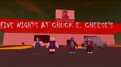 five nights at chuck E. cheese's on roblox