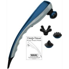 Wahl Deep Tissue Therapeutic Massager - Blue