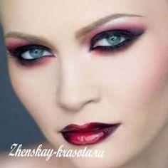 Картинки по запросу макияж вампира