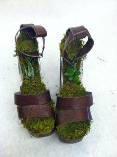Terrarium Shoes by Emily Myers at Coroflot.com