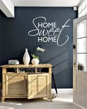 Home Sweet Home Adesivos de Parede Decoração de Casa Papel De Parede Papel de Parede Do Decalque Para Utilidades Domésticas 60 cm X 105 cm Frete Grátis(China (Mainland))